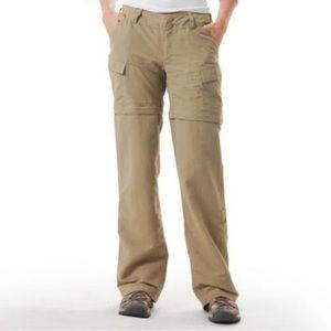 The North Face convertible zip hiking pants/shorts